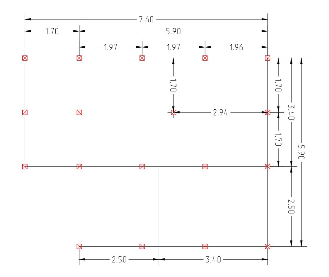 Проект свайного фундамента для дома 6 на 8 в снт. Дружба
