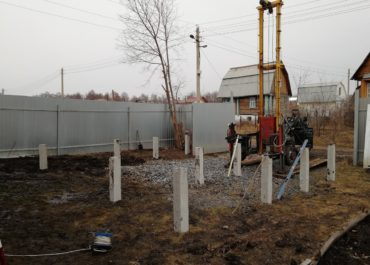 Фундамент на железобетонных сваях Уфа