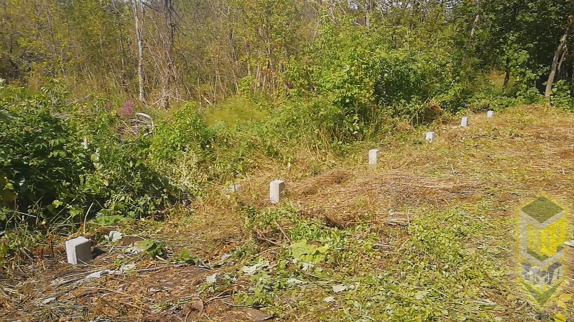 Свайный фундамент для бани и гаража д. Карпово