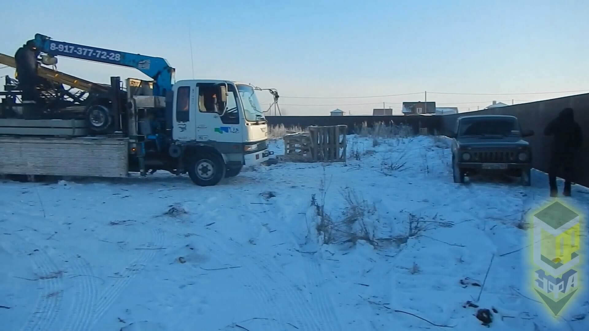 Свайный фундамент для дома 9 на 9 д. Карпово