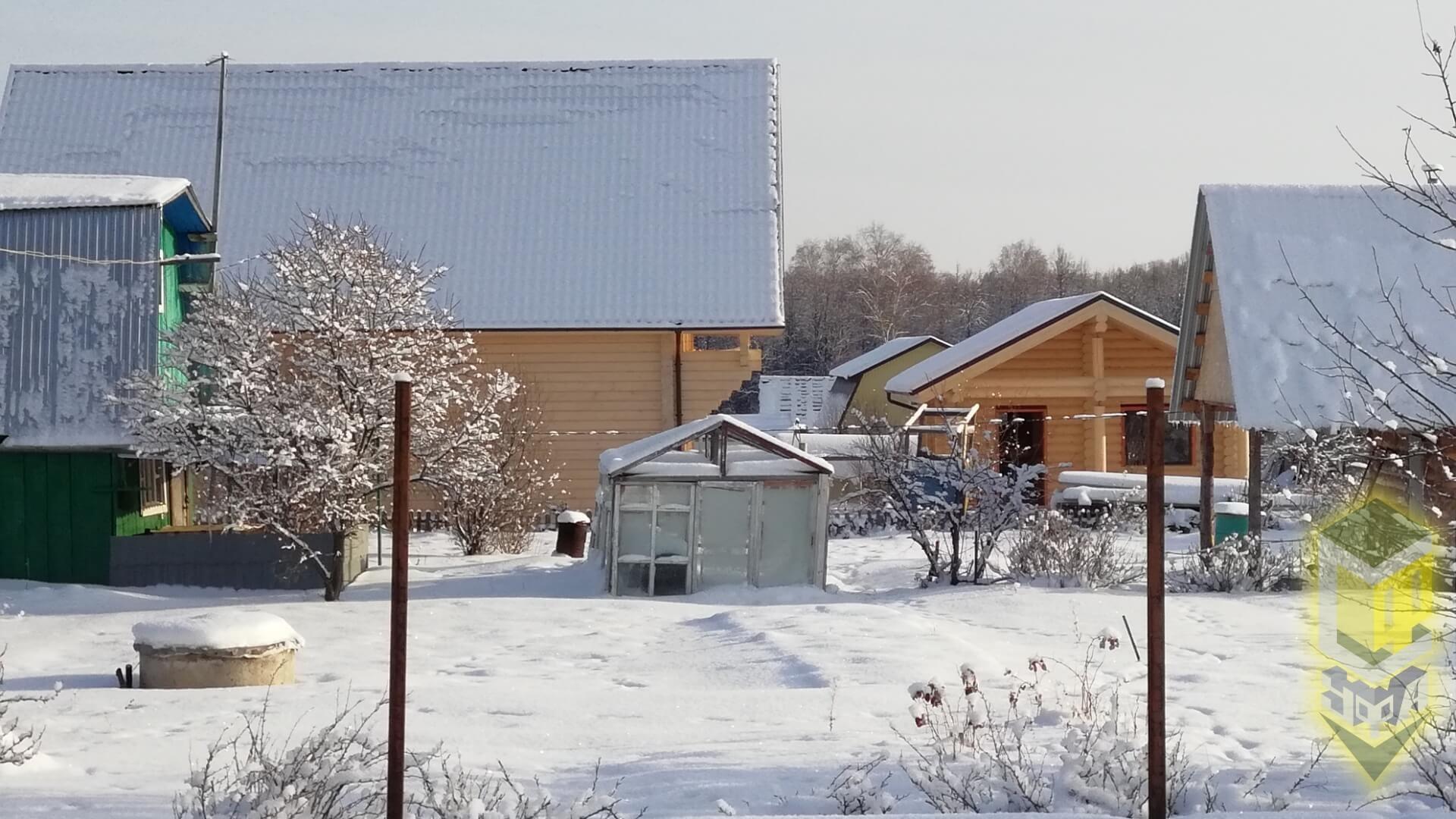 Свайный фундамент в д. Субакаево