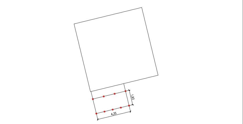 Проект свайного фундамента для террасы 1 в с. Михайловка