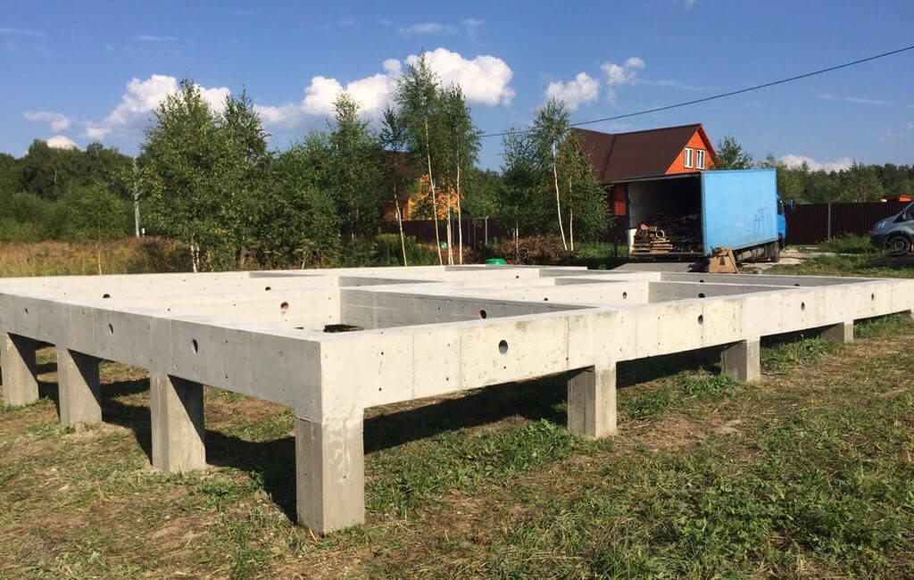 Бетон ростверковый сухой тощий бетон